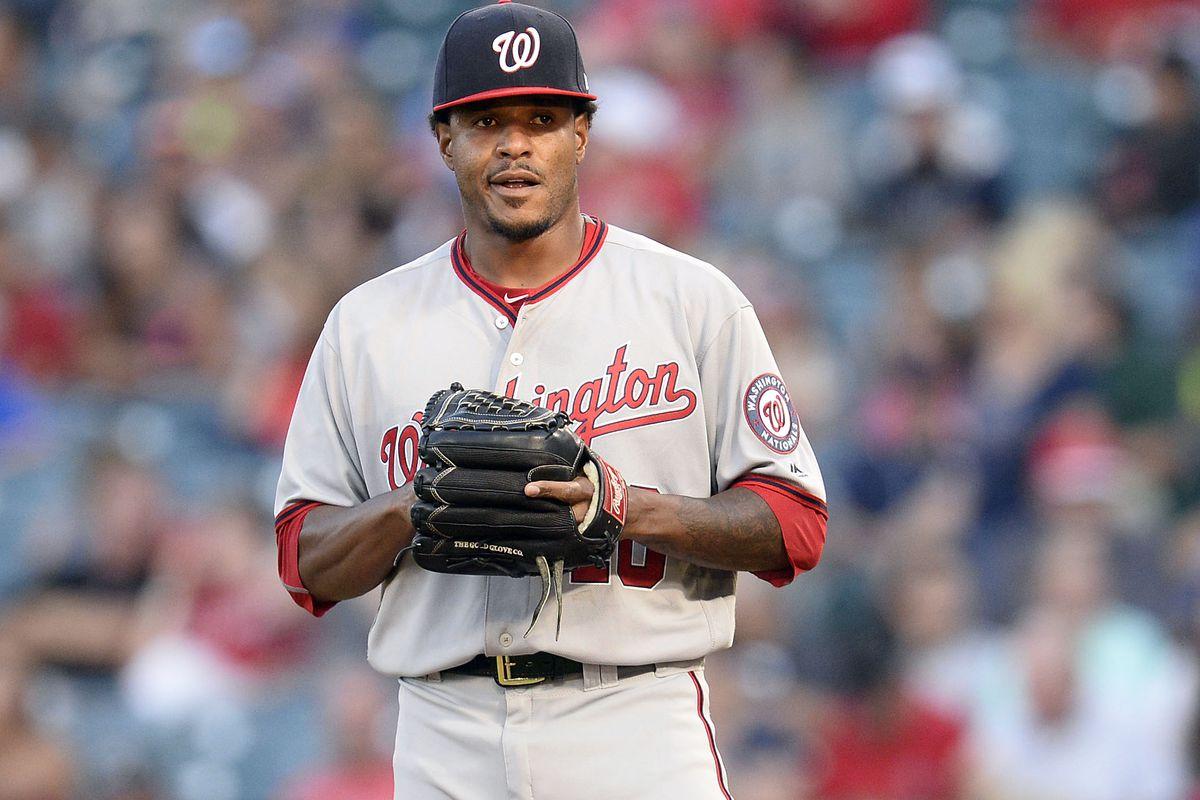MLB: Washington Nationals at Los Angeles Angels