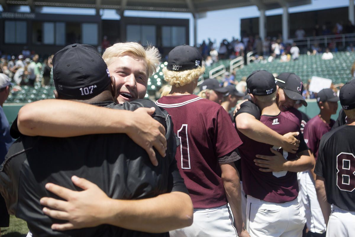 Jordan plays Olympus in the 5A baseball state championship at UCCU Ballpark in Orem on Friday, May 25, 2018. Jordan won the championship.