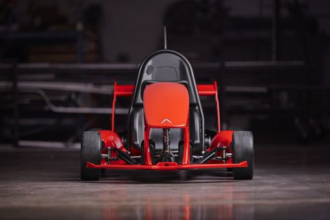 This $599 smart go-kart can literally do donuts around Power Wheels