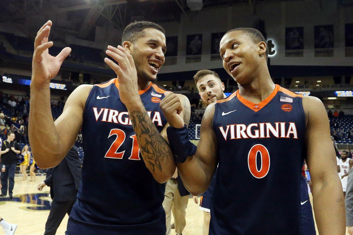 NCAA Basketball: Virginia at Pittsburgh
