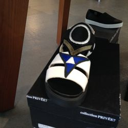 Collection Privee sandal, $315 (from $450)
