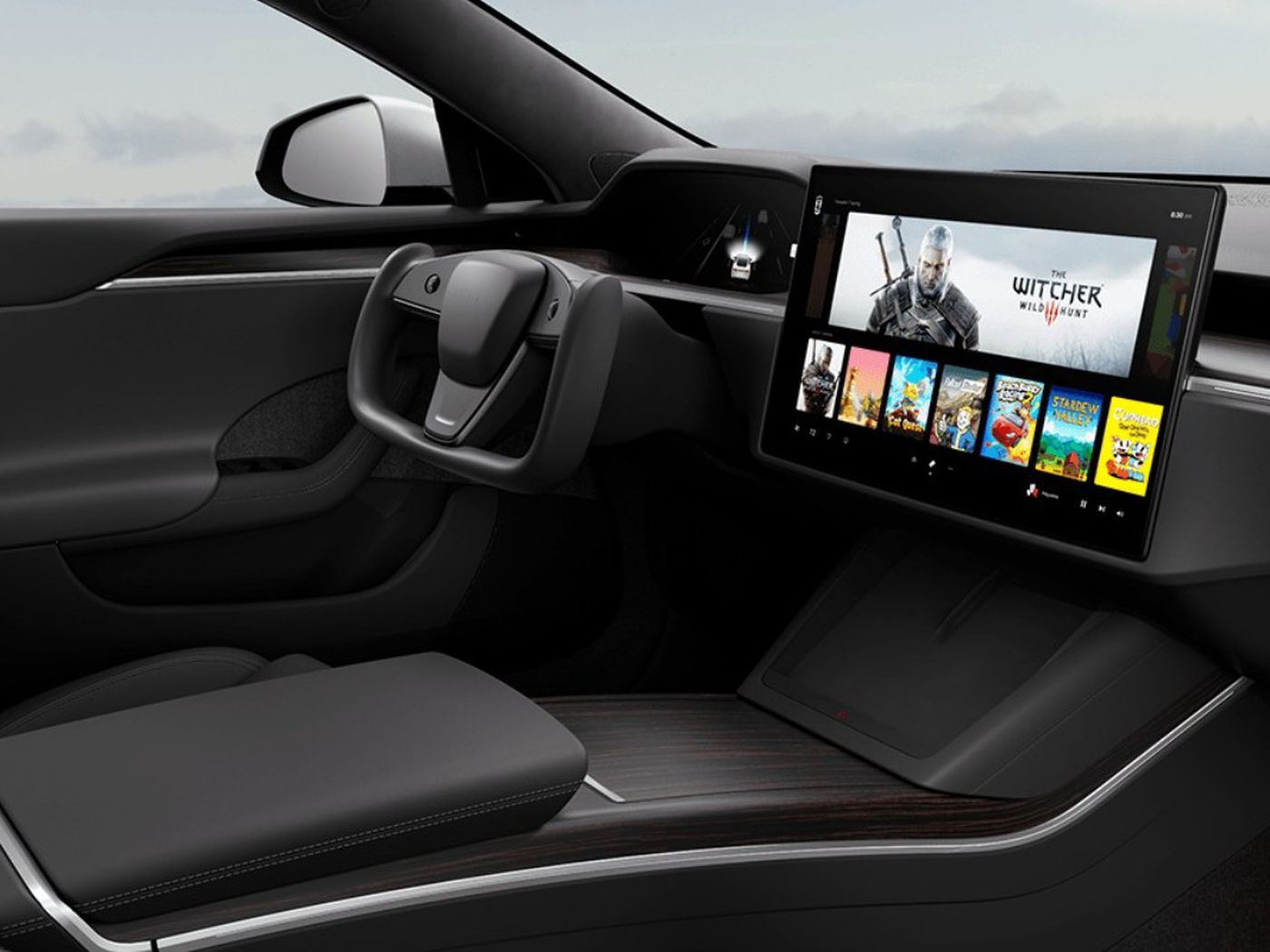Tesla's new Model S will apparently play Witcher 3 on a built-in 10  teraflop gaming rig - The Verge