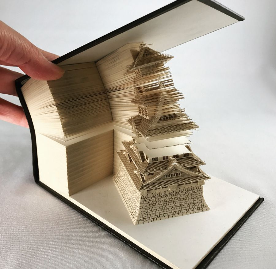 Omoshiroi Memo Pads Reveal Intricate Architectural Models