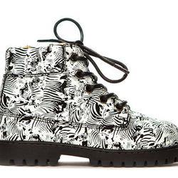 """Atticus boot in Zebra, <a href=""""http://shop.akidbrand.com/jzv/p/15/Atticus+Boot?p=YzE9OA=="""">$75</a>"""