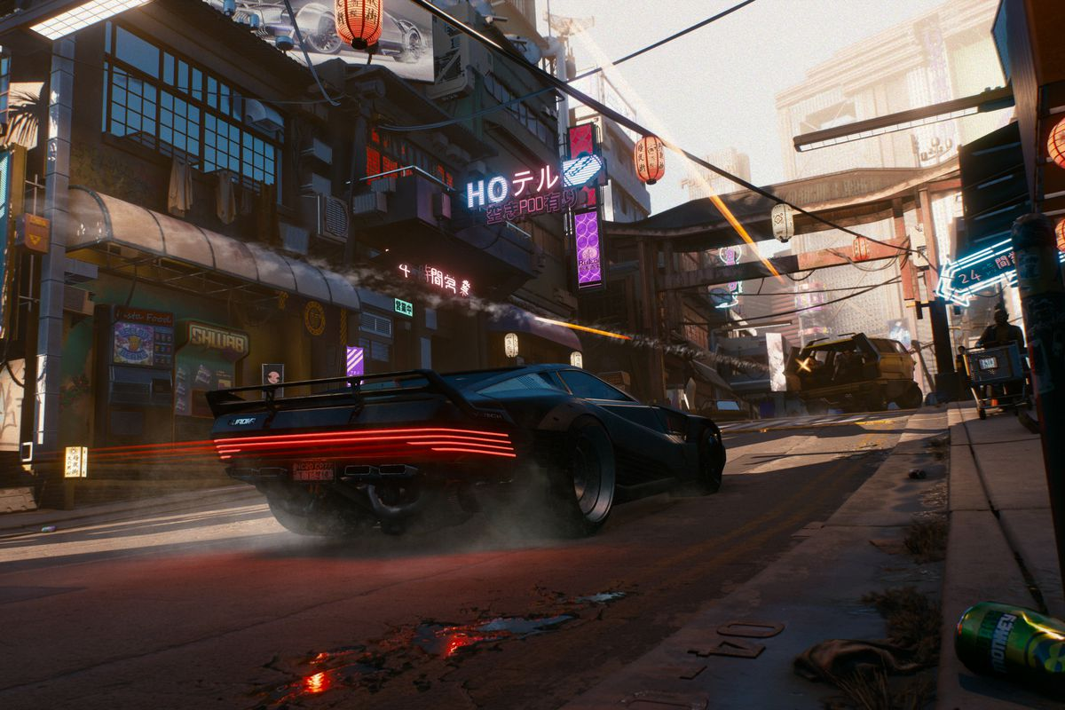 why the cyberpunk 2077 developers were hesitant to show gameplay