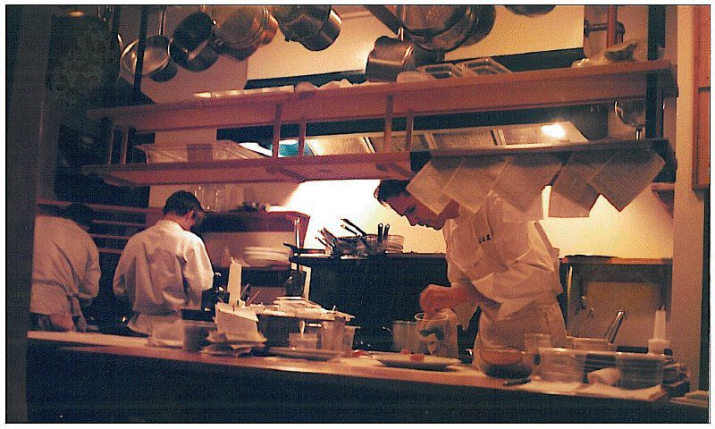 Inside The French Laundry's kitchen, mid-1990s [Photo: The French Laundry/Facebook]