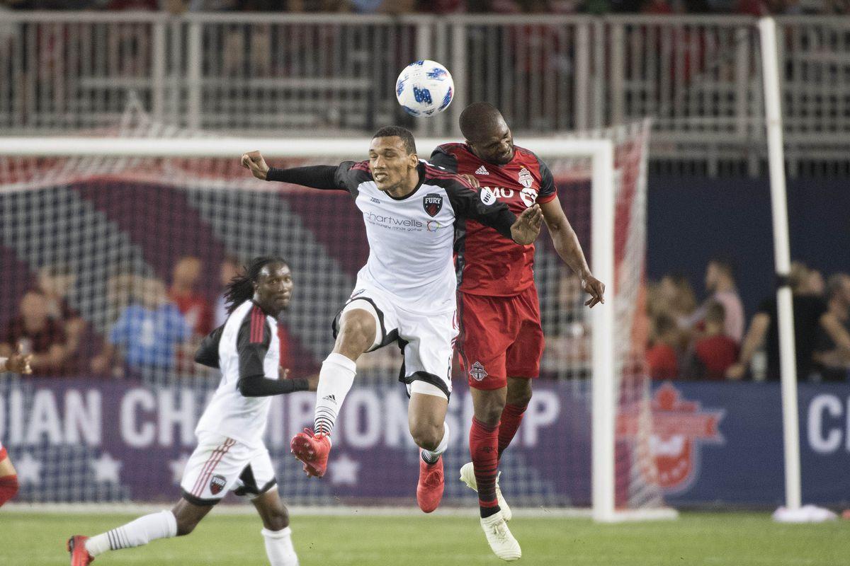 MLS: Canadian Championship-Ottawa Fury FC at Toronto FC