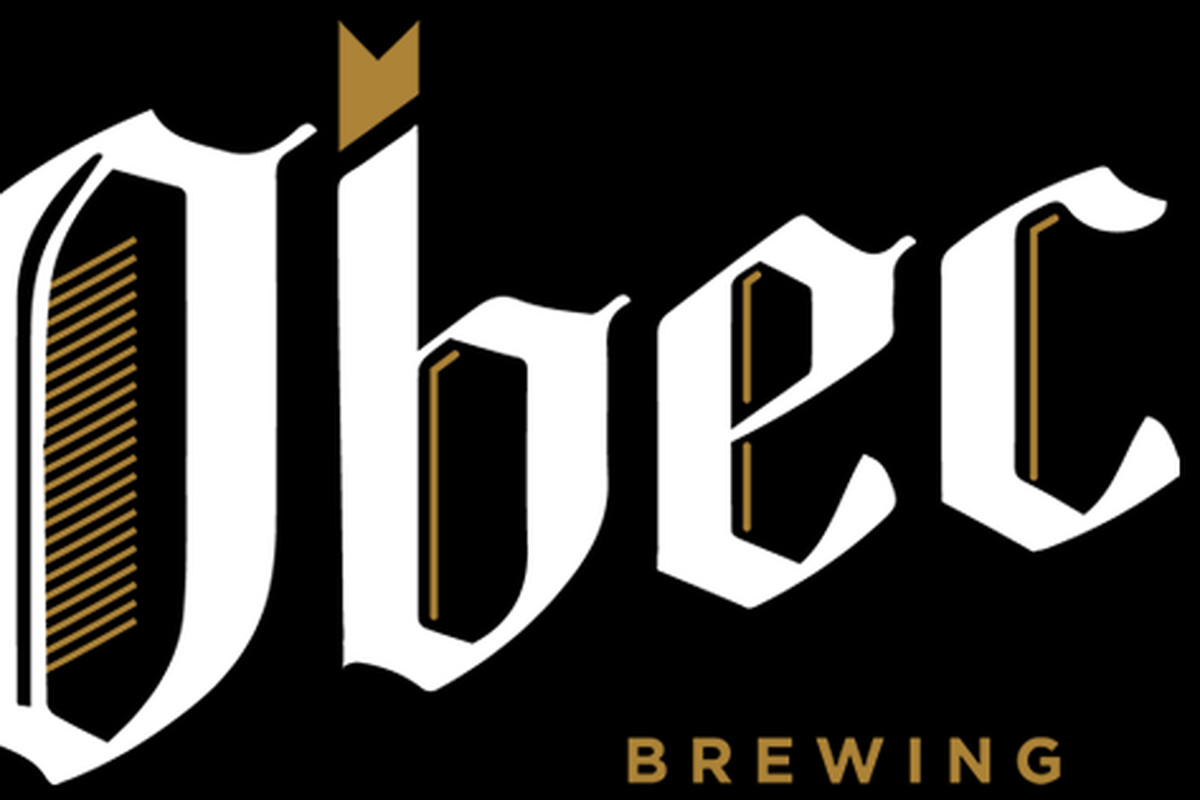 Obec Brewing Company's logo, a stylized version of the name.