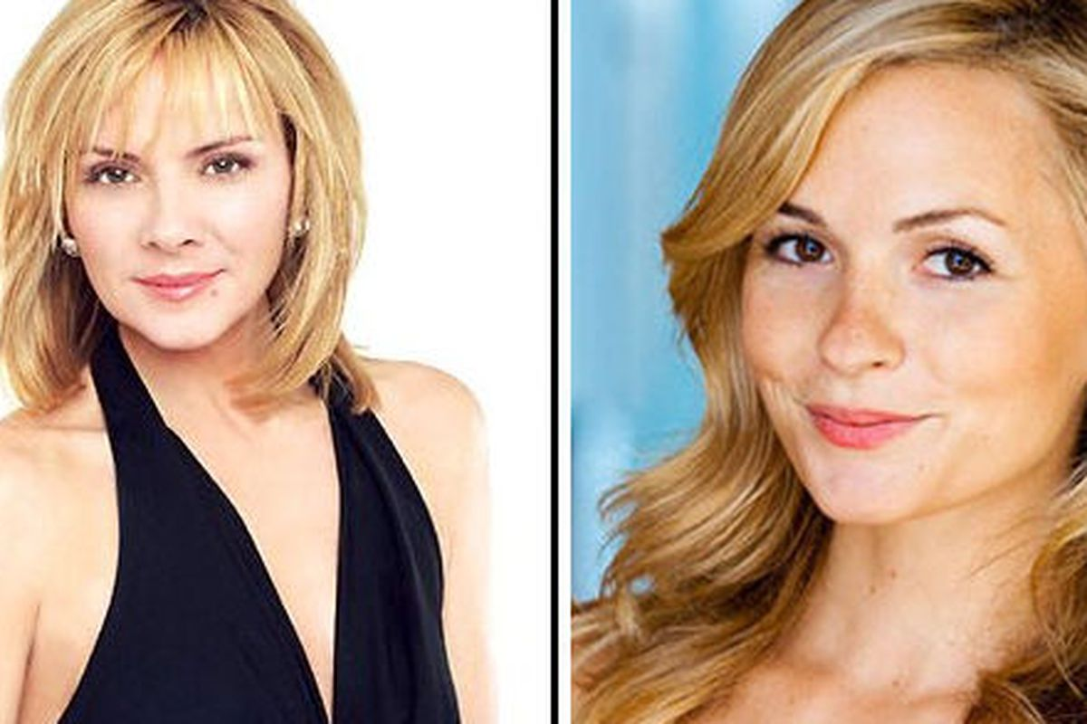 Lindsey Gort will play a young Samantha Jones on the CW's Carrie Diaries