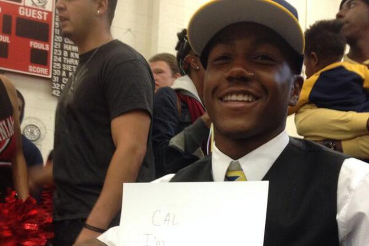 Tre Watson signs with Cal!