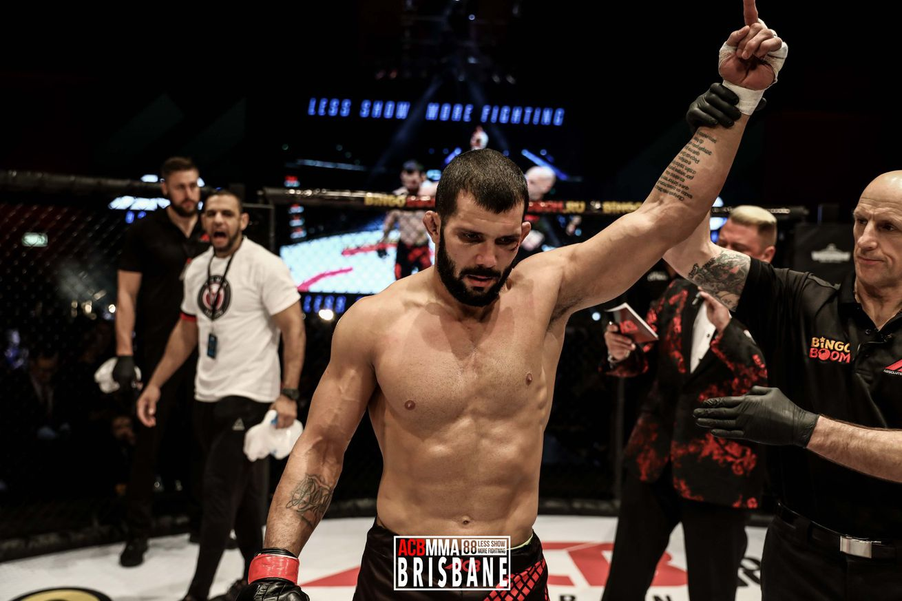 Rodolfo Vieira (pictured) fights Oskar Piechota in a middleweight bout at UFC Uruguay on Aug. 10