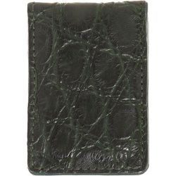 """<strong>Barney's</strong> Alligator Money Clip in Deep Green, <a href=""""http://www.barneys.com/on/demandware.store/Sites-BNY-Site/default/Product-Show?pid=00505023638150&q=money%20clip&index=27"""">$150</a>"""