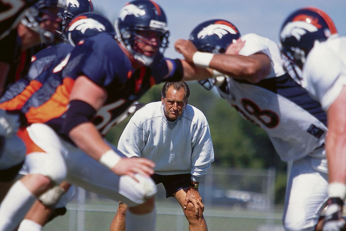 Denver Broncos Coach Alex Gibbs