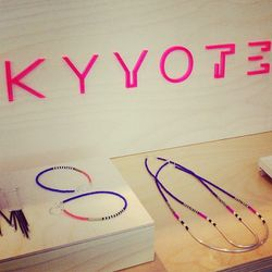 """We love the colors and simplicity of LA's <a href=""""http://www.kyyote.com/""""target=""""_blank"""">Kyyote</a> jewelry."""