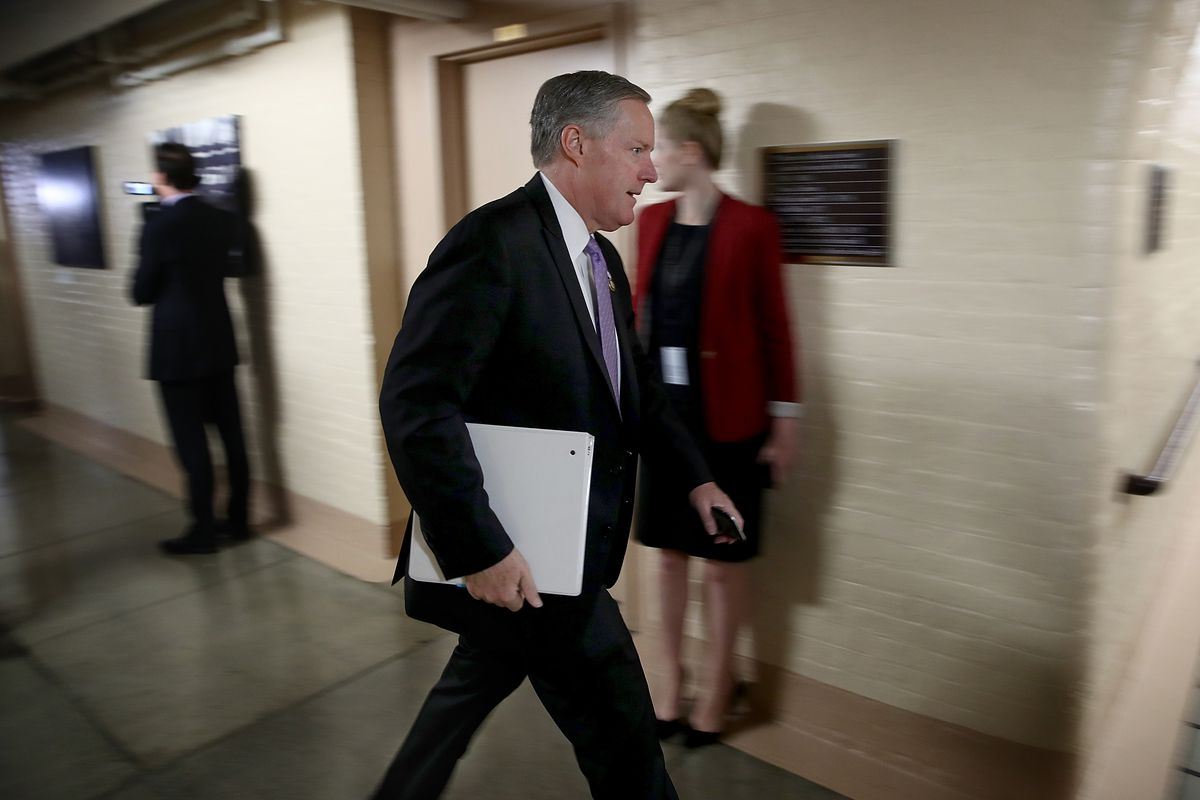 House Speaker Paul Ryan And GOP Leadership Speak To Press After Weekly Conference Meeting