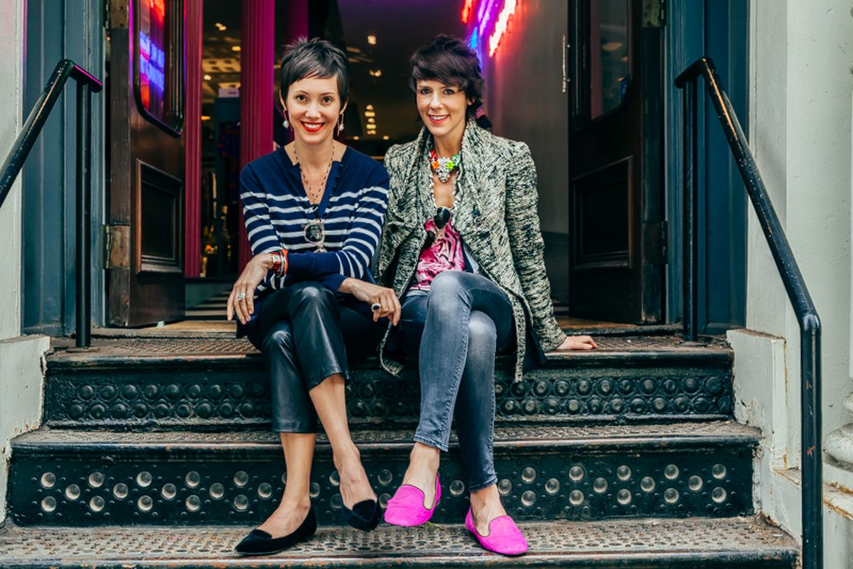 "Beth Buccini and Sarah Easley of Kirna Zabête. Photo by <a href=""http://peladopelado.com/"">Driely S.</a>"