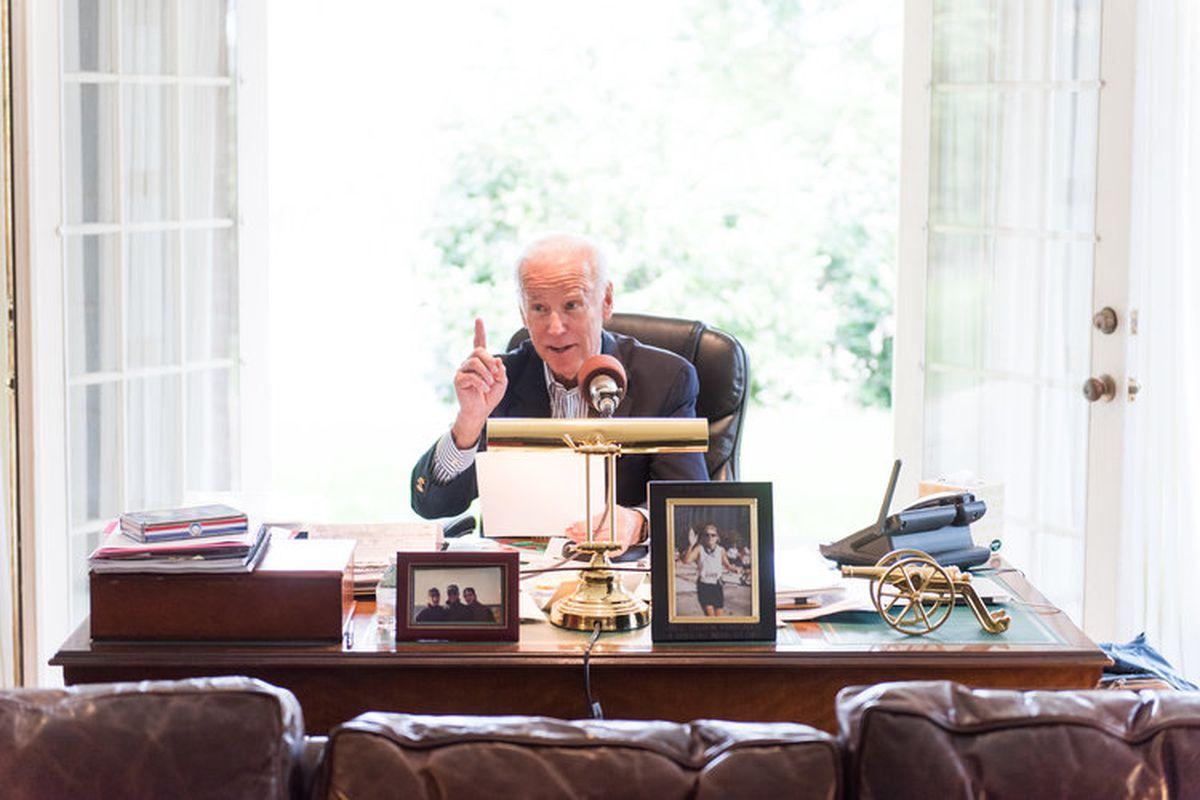 Joe Biden Goes Live on Amazon Echo, Google Home With Daily Newscast