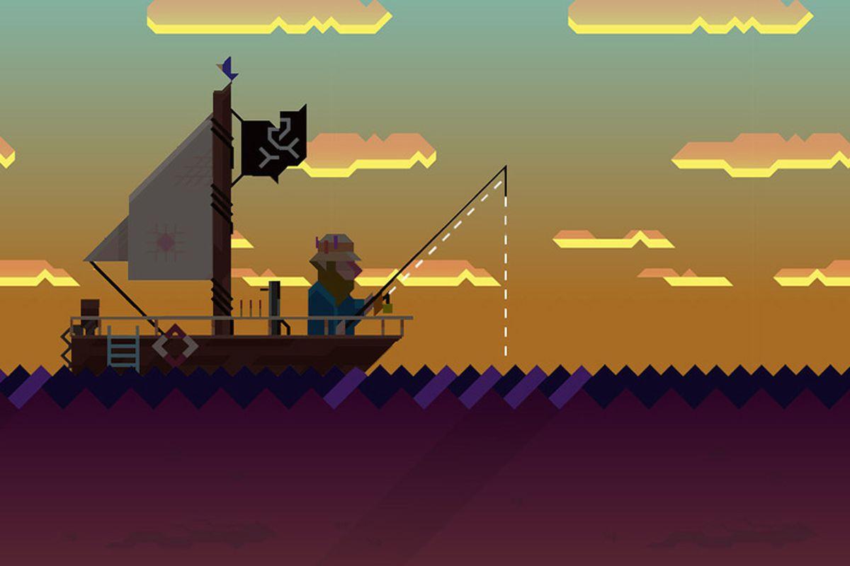 Radical fishing 2 game cascading reels slot machine online
