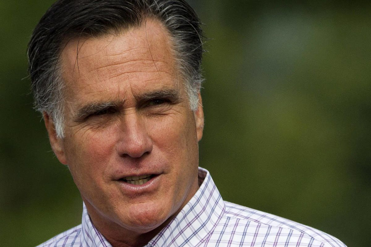 FILE - In this Aug. 27, 2012 file photo, Republican presidential candidate, former Massachusetts Gov. Mitt Romney leaves Wolfeboro, N.H.