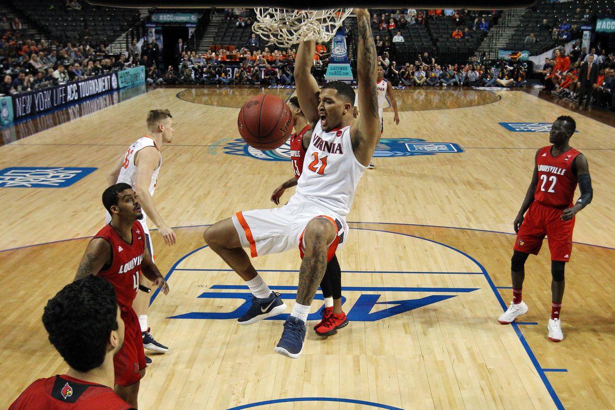 NCAA Basketball: ACC Conference Tournament-Virginia vs Louisville