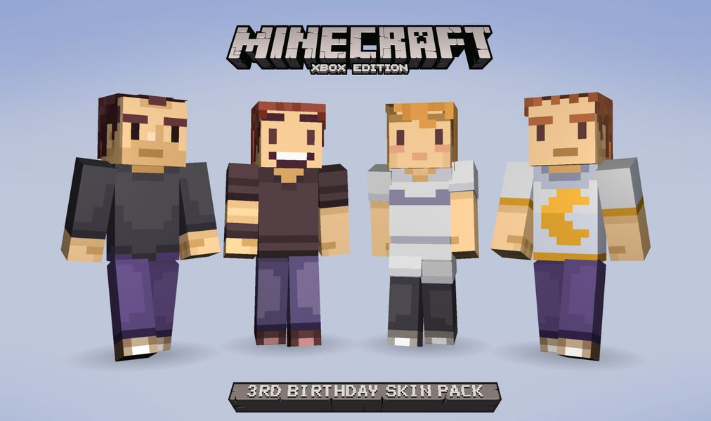 Free Minecraft skins hit Xbox to celebrate three years on ... | 1012 x 600 jpeg 53kB