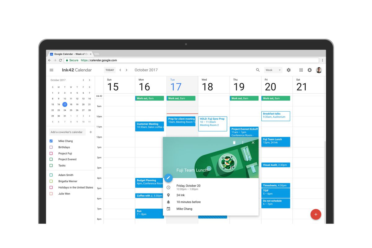 Google Calendar Gets a New Look on the Web, Upgrades