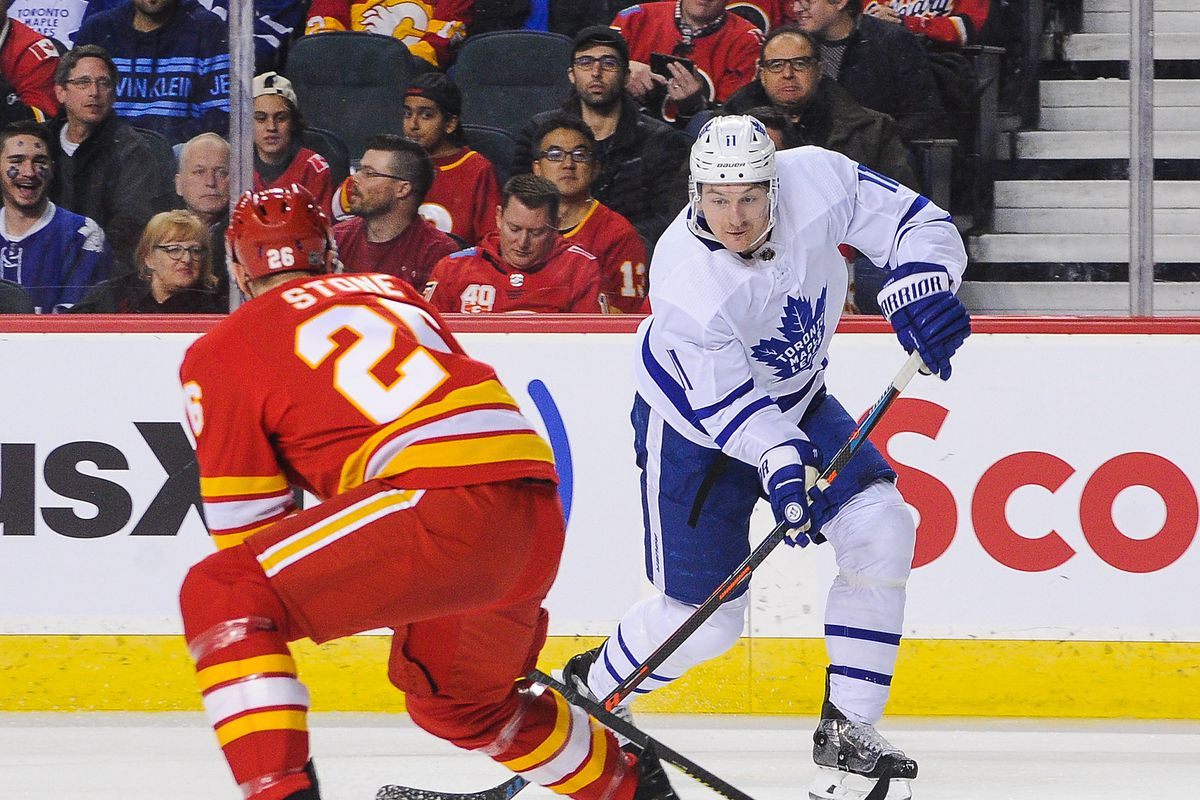 Leafs Implode In Third, Lose 4-2 To Flames