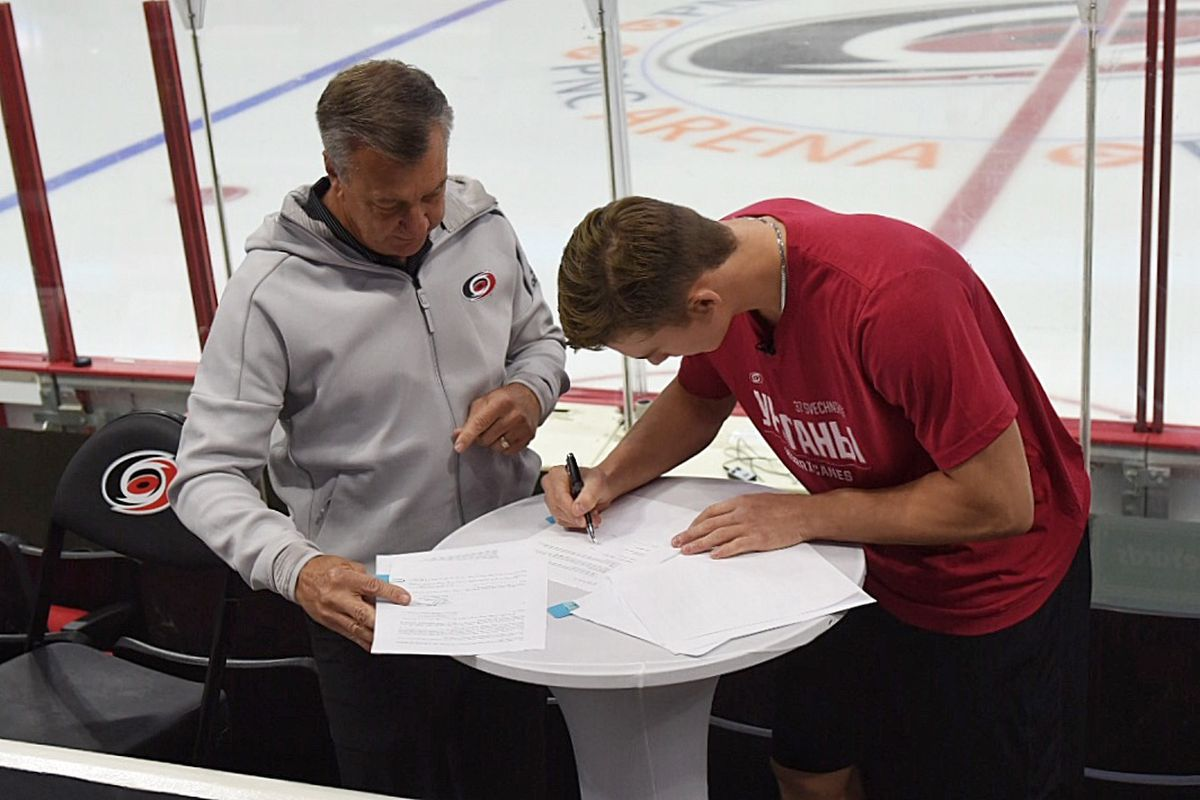 9585452b Hurricanes Sign Andrei Svechnikov to Entry-Level Contract - Canes ...