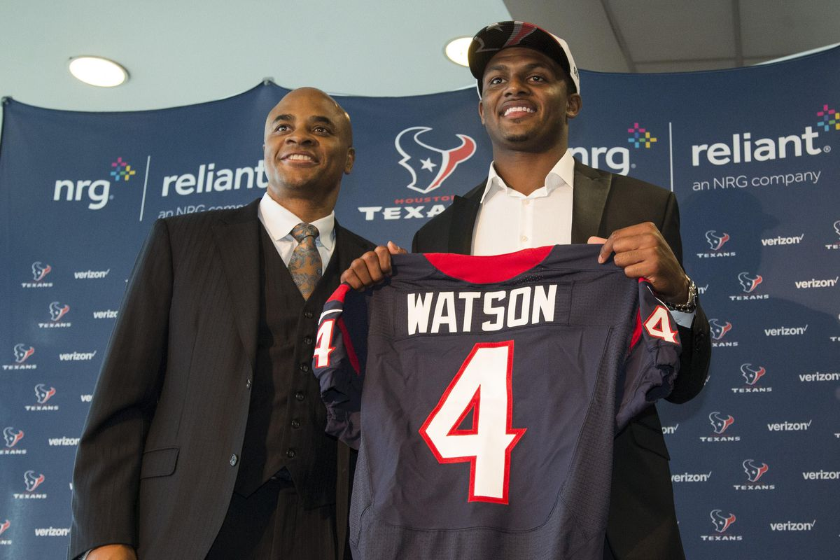 a27702c75 2017 NFL Draft  The Anatomy Of The Texans  Trade-Up For Deshaun Watson