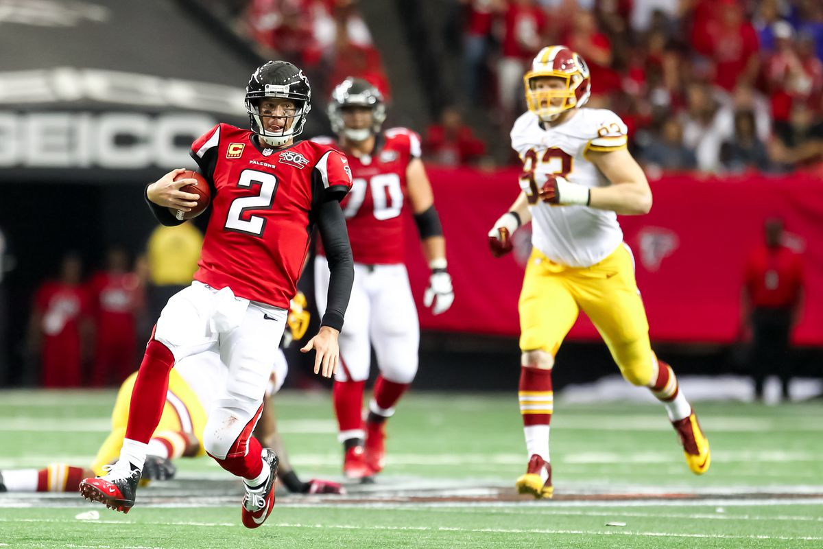 NFL: OCT 11 Redskins at Falcons