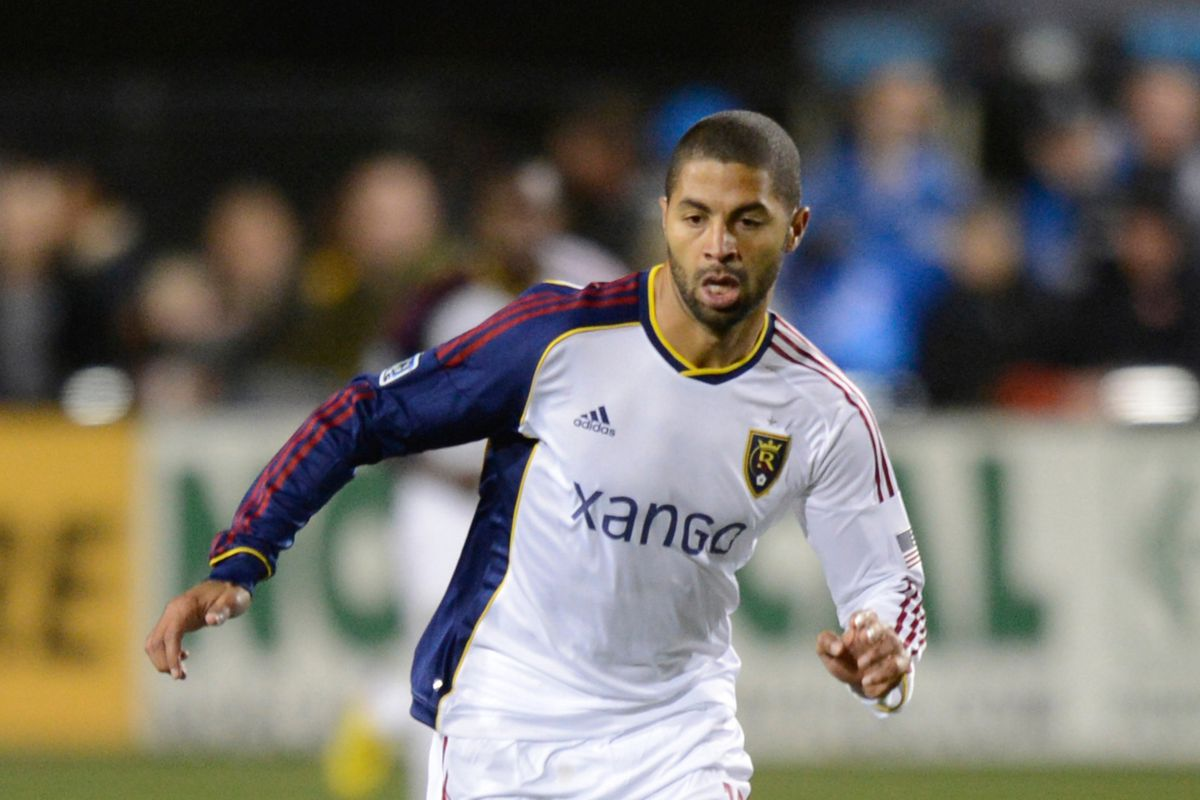Real Salt Lake forward Alvaro Saborio recently played at Dick's Sporting Goods Park for Costa Rica in a World Cup Qualifier against the United States. Costa Rica lost 1-0 in a blizzard.