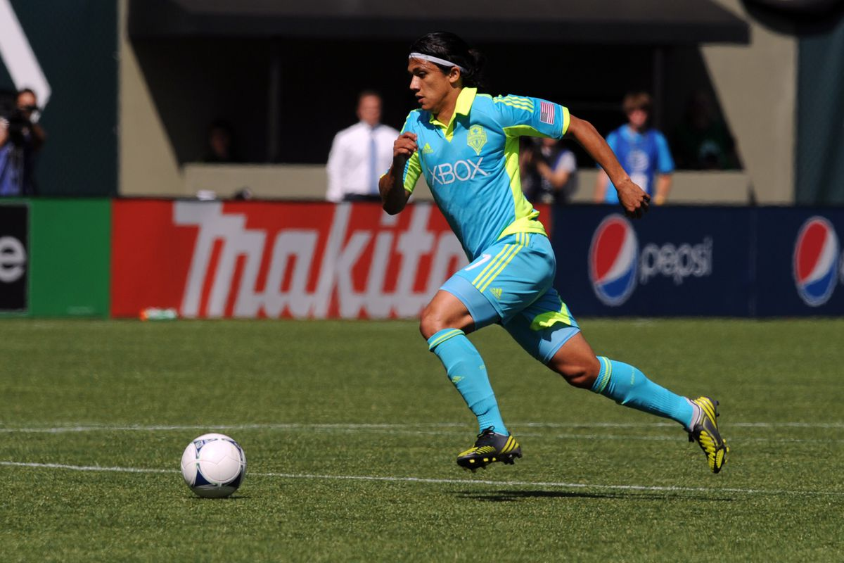 There is one King of Cascadia - Fredy Montero (Photo by Steve Dykes/Getty Images)