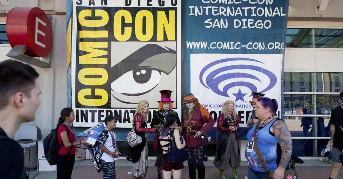 San Diego Comic-Con goes digital but heavy hitters from Marvel Studios and Warner Bros. may be absent – The Verge