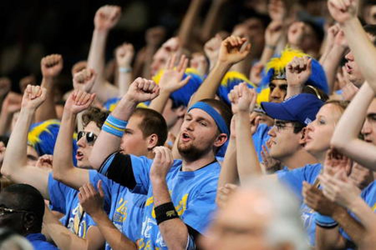 Let's get the Bruin Den some cash by taking this survey. Go Bruins.  (Photo by Kevork Djansezian/Getty Images)