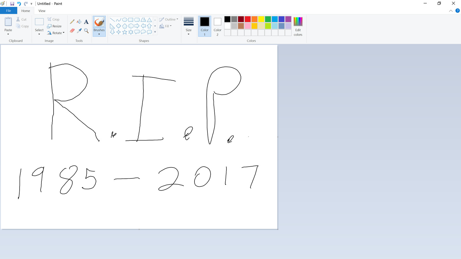 Microsoft Paint is getting killed off in the Windows 10 Fall Creators Update