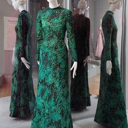 Elsa Schiaparelli green dress