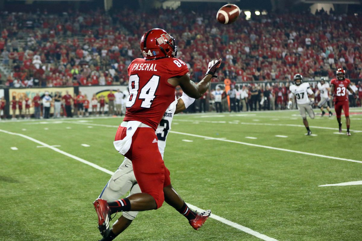 Is Dijon Paschal secretly the fastest Red Wolf on the A-State roster?