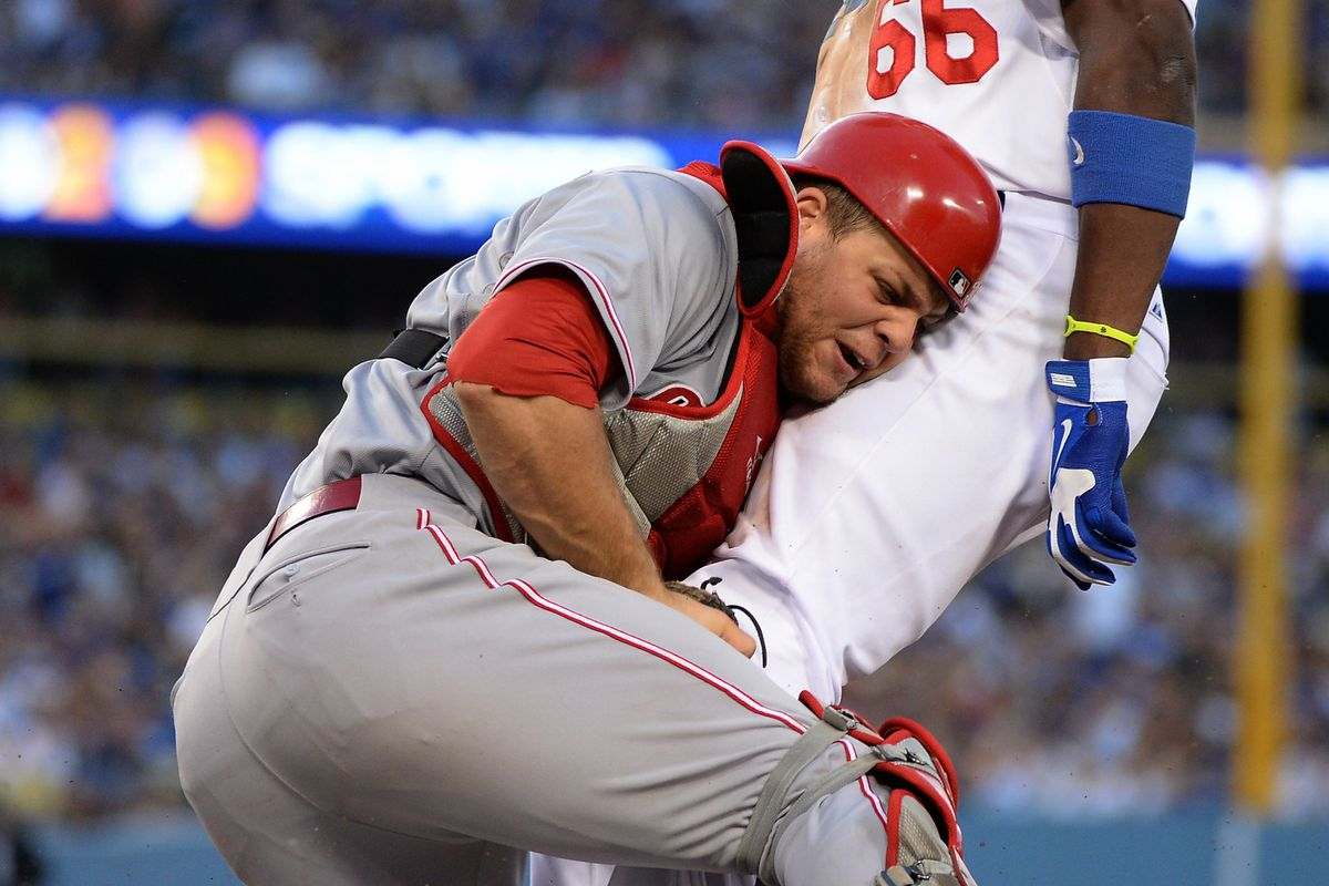 Somewhere, Buster Olney is being jealous of Devin Mesoraco.