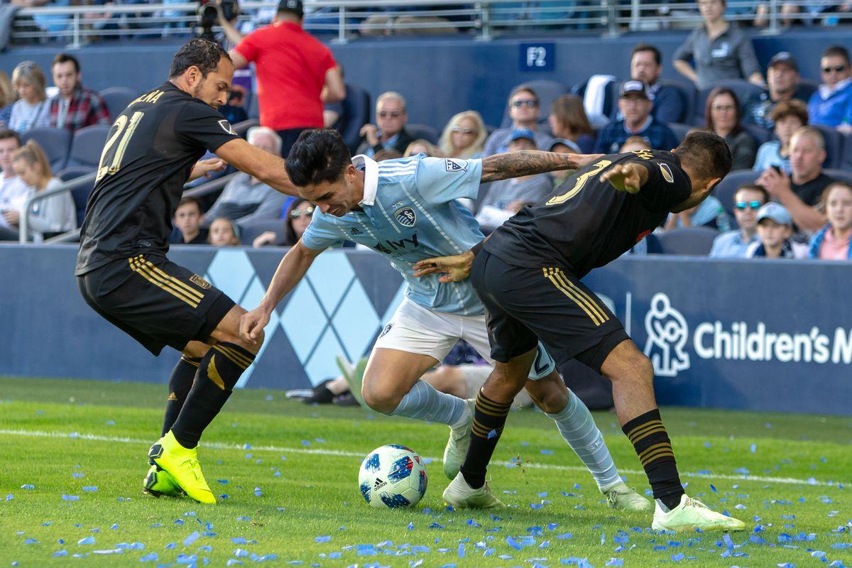MLS: Los Angeles FC at Sporting KC