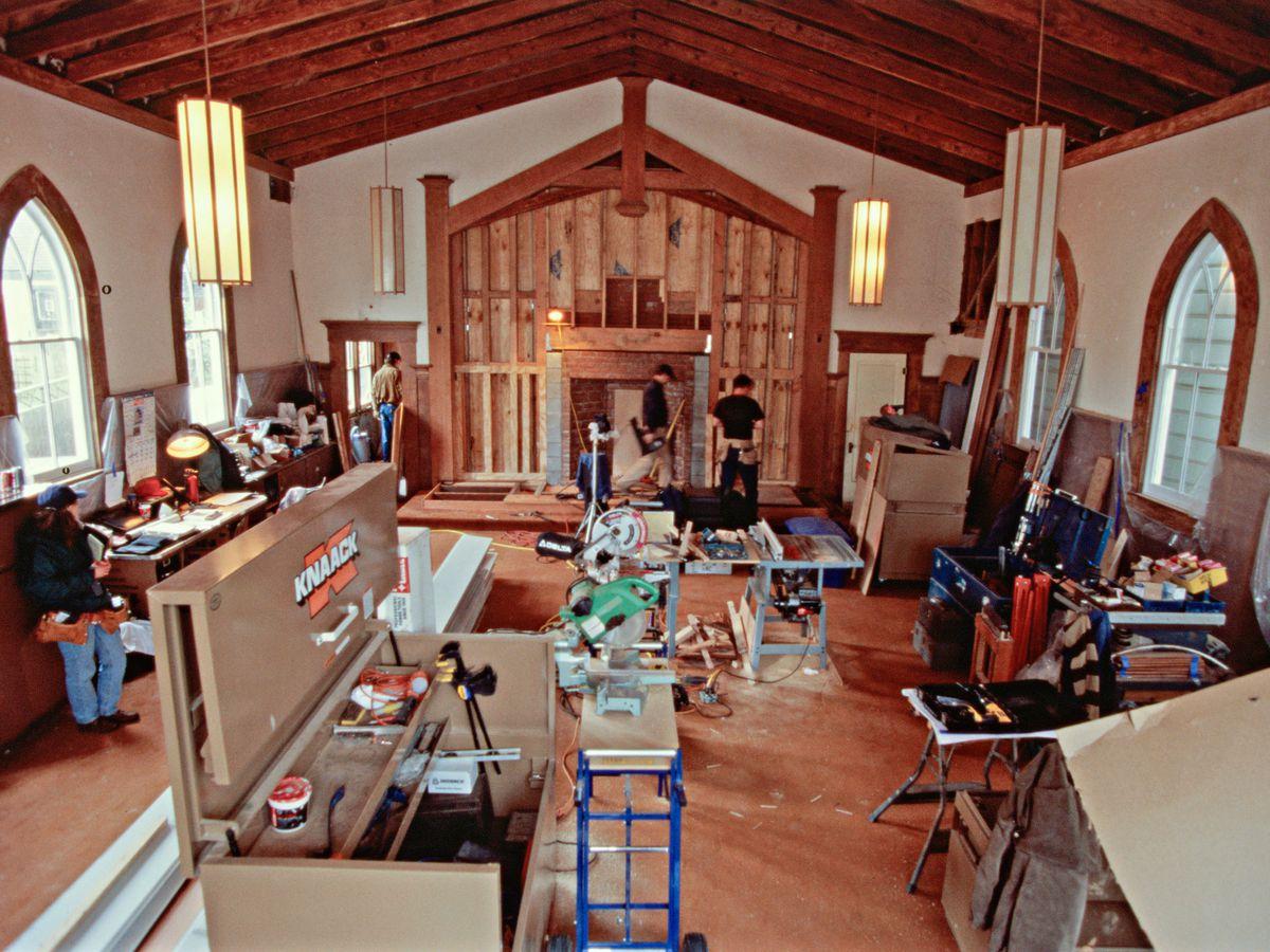 Interior of San Francisco project house, season 19