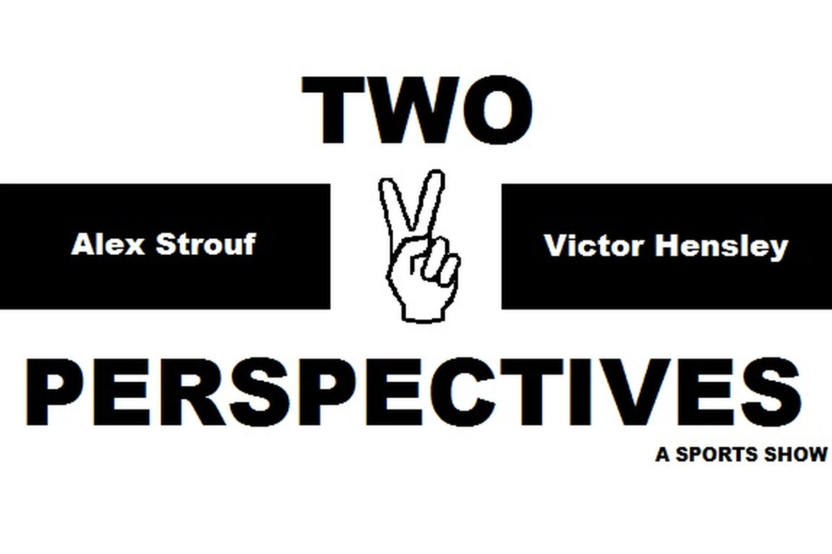 Two Perspectives: Sports Show Logo