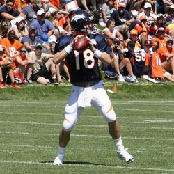Denver Broncos quaterback Peyton Manning
