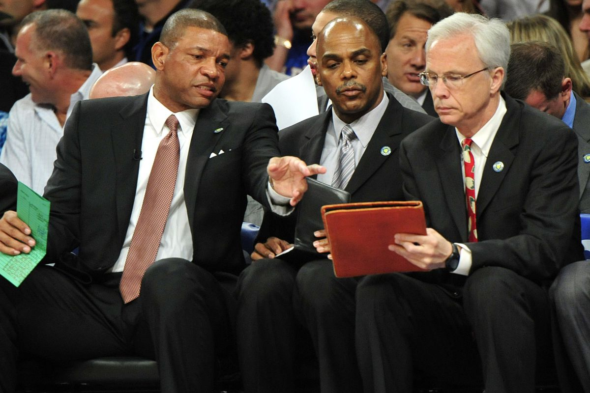 Some guys that won't coach the Celtics next year, probably.