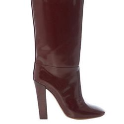 """<a href=""""http://www.matchesfashion.com/product/135262"""">Mid-length boots by Chloé</a>, $214.60 (were $897)"""