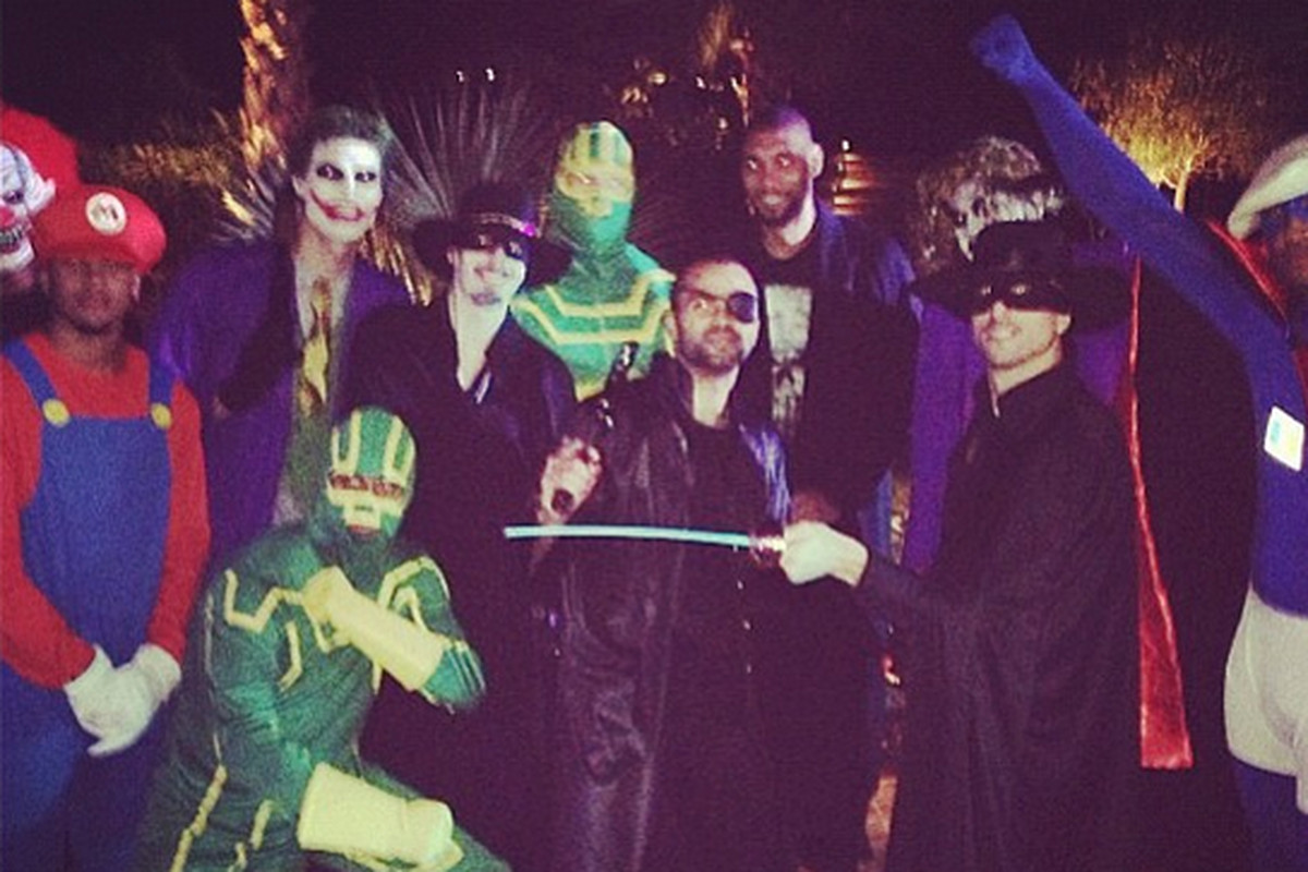 Stephen Jackson as The Joker and more from the Spurs' Halloween ...