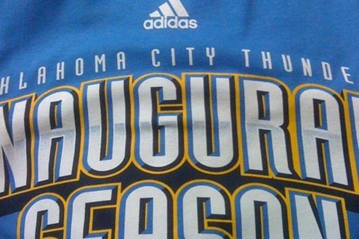 Wear Thunder Blue on Friday!