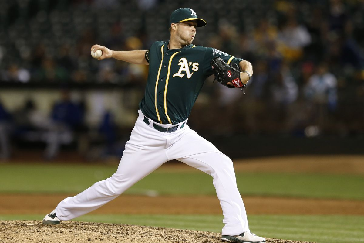 Evan Scribner was the closest non-tender decision in our A's offseason plan project.