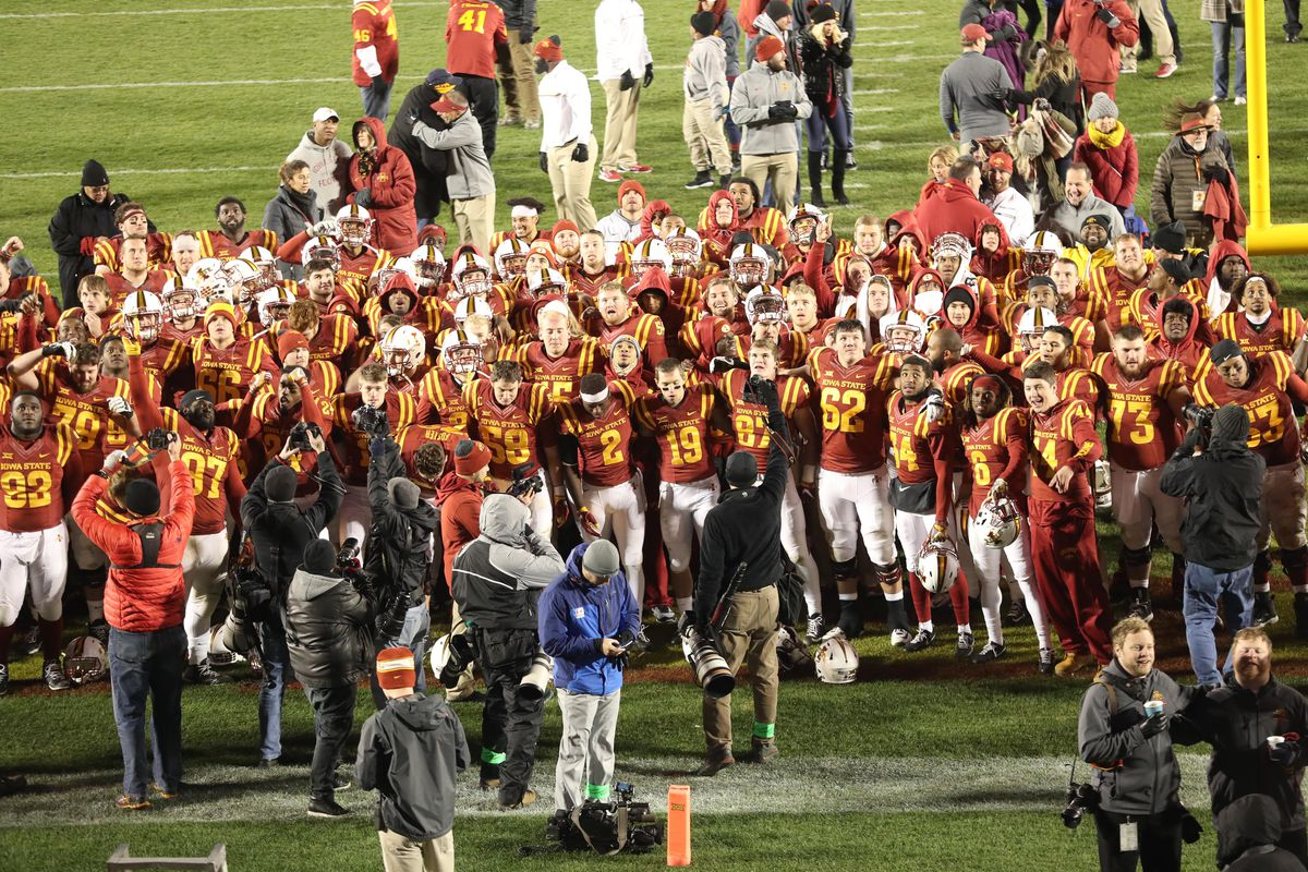 Examining Iowa State S 2017 Football Roster Wide Right Natty Lite