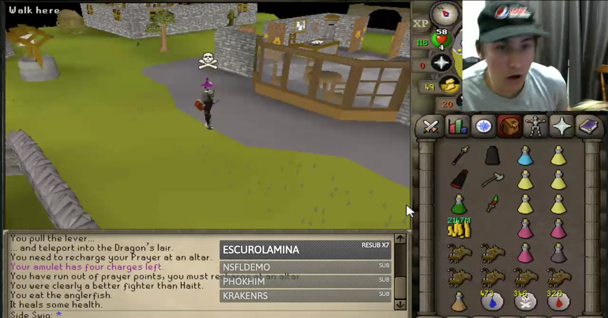 Old School RuneScape pulled offline for making every player a billionaire by mistake
