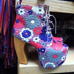 If you dare to channel your inner Spice Girl, may we suggest these Jeffrey Campbells?